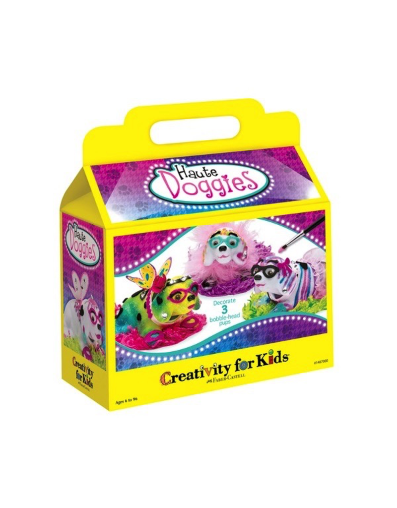 Creativity for Kids HAUTE DOGGIES BOBBLE HEADS