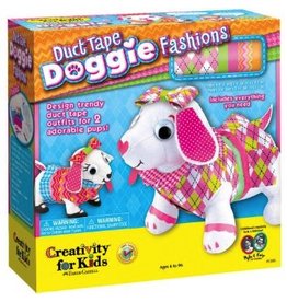 Creativity for Kids DUCT TAPE DOGGIE FASHION