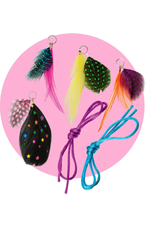 Alex 2 FEATHER NECKLACES POP CRAFTS