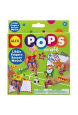 Alex LITTLE FINGERS SOCCER MATCH POP CRAFTS