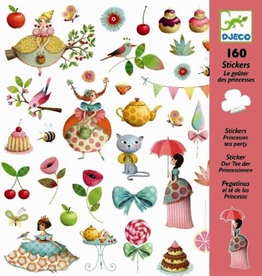 Djeco Djeco Stickers - Princesses Tea Party