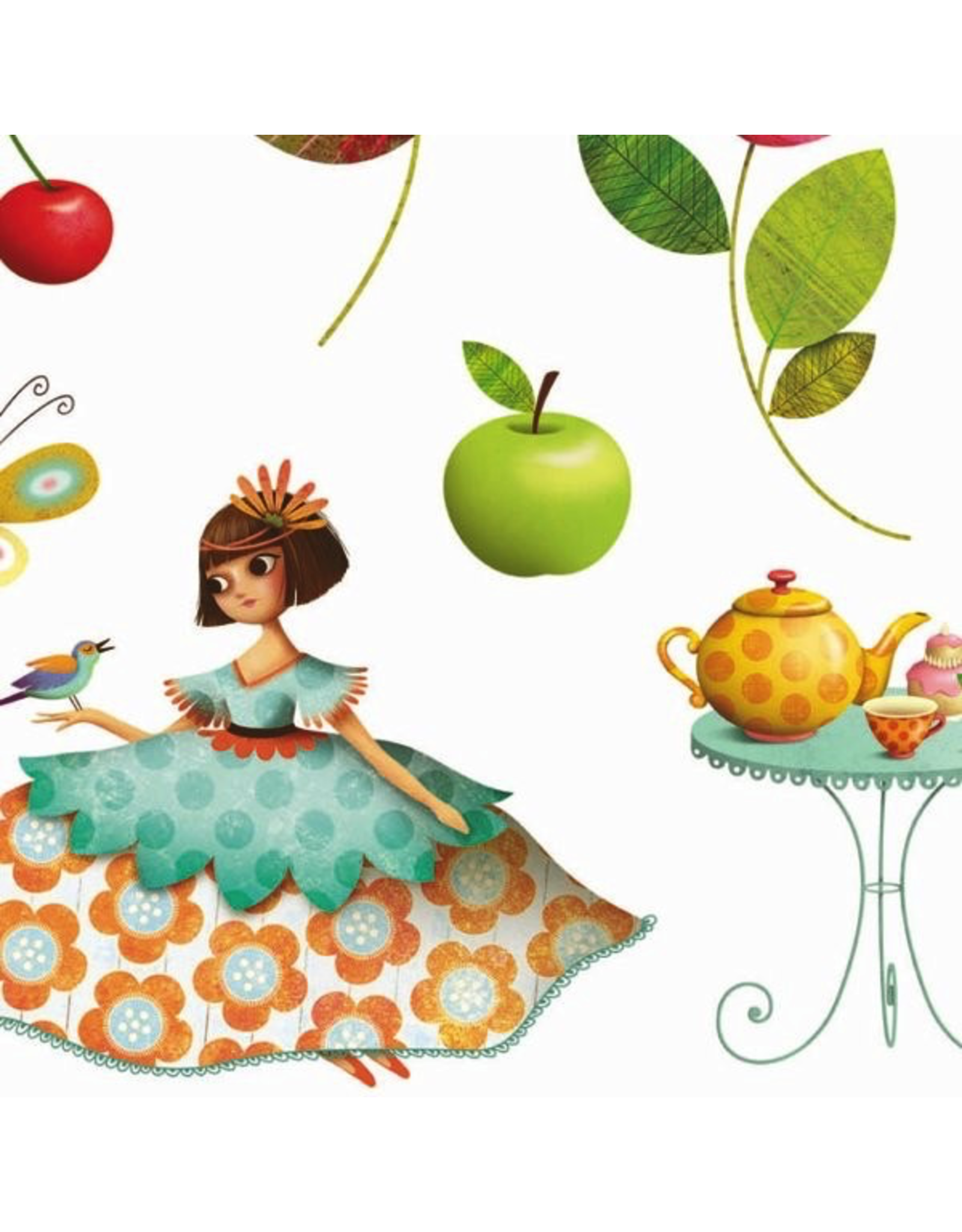 Djeco STICKERS / PRINCESS TEA PARTY