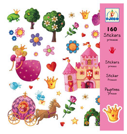 Djeco Djeco Stickers - Princess Marguerite