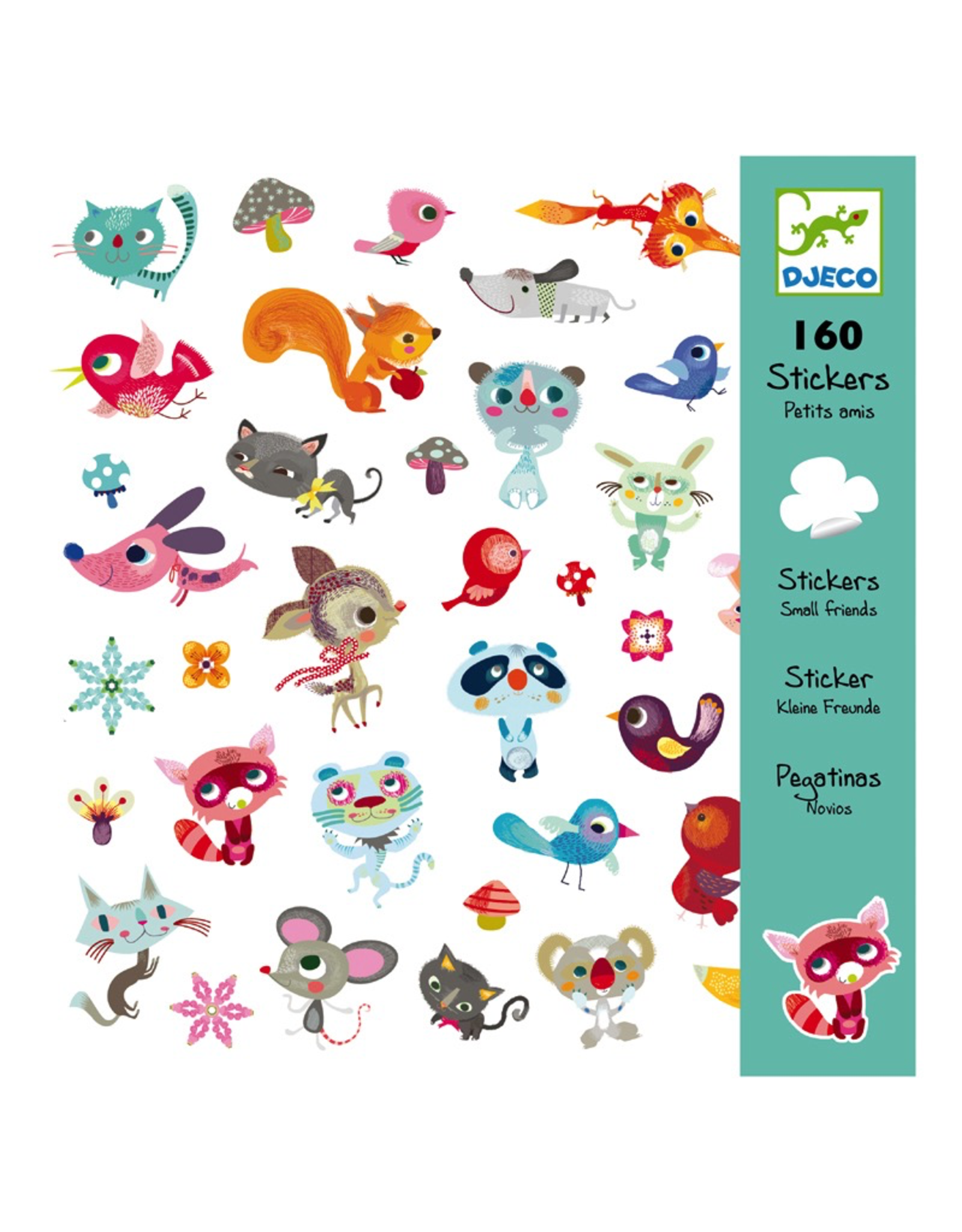 Djeco STICKERS LITTLE FRIENDS