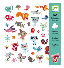 Djeco Dejeco Stickers - Small Friends
