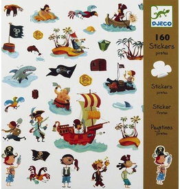 Djeco Djeco Stickers - Pirates
