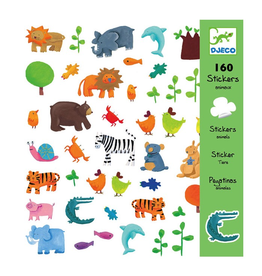 Djeco Dejeco Stickers - Animals