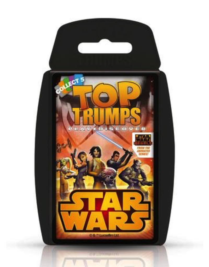 Top Trumps TOP TRUMPS STAR WARS REBELS