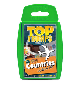 Top Trumps TOP TRUMPS COUNTRIES OF THE WORLD CARD GAME