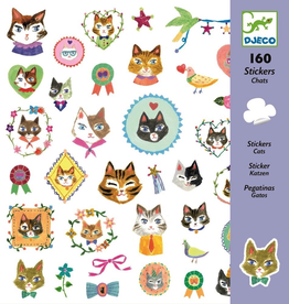 Djeco Dejeco Stickers - Cats