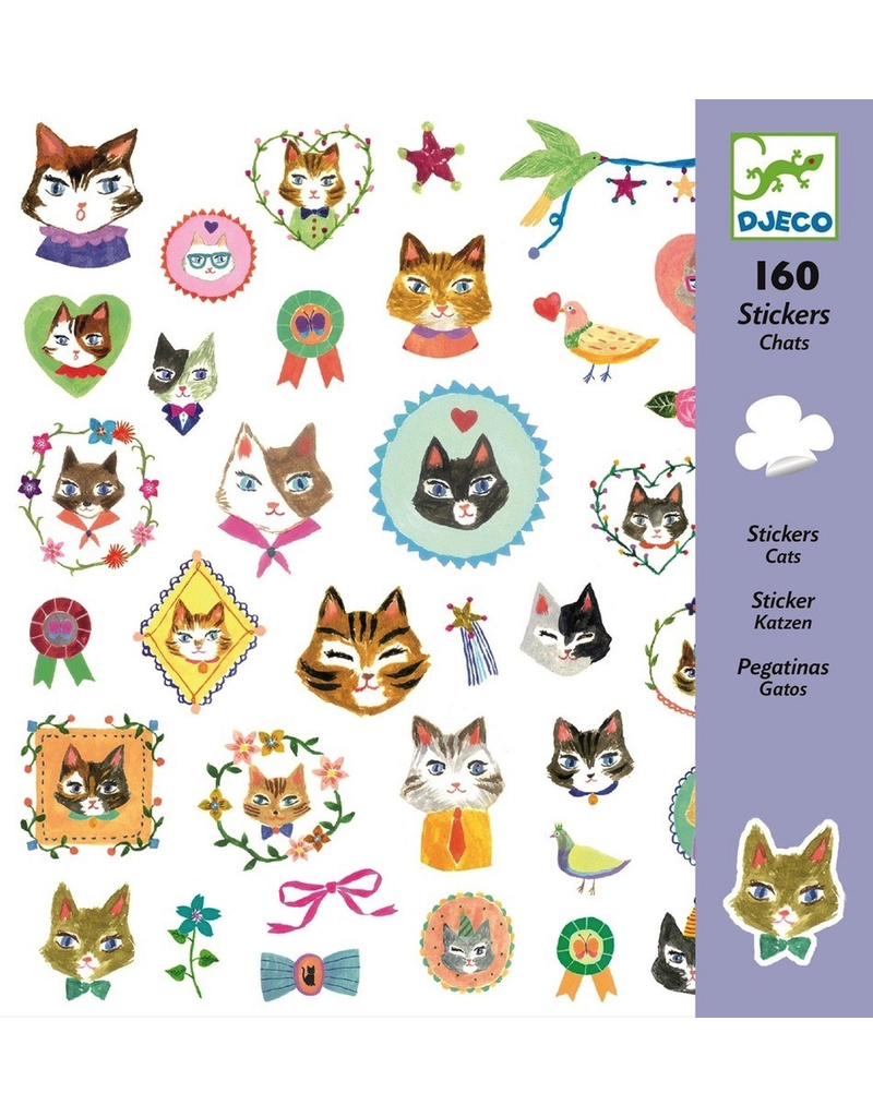 Djeco STICKERS  CATS