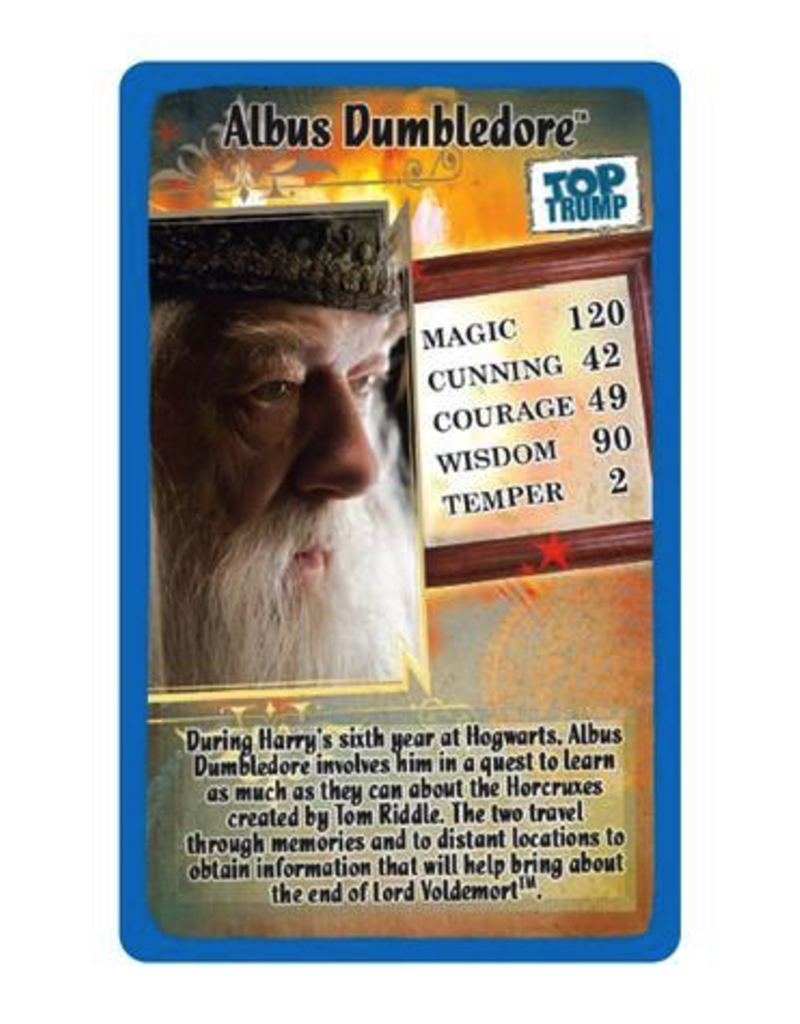 Top Trumps TOP TRUMPS HARRY POTTER AND HALF BLOOD PRINCE