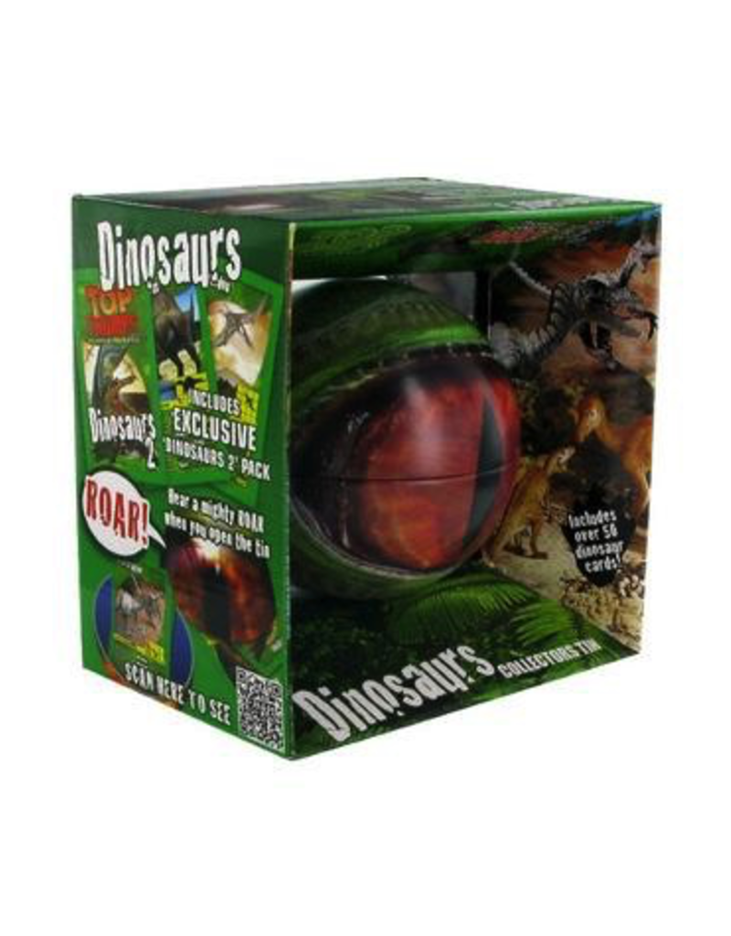 Top Trumps TOP TRUMPS DINOSAURS COLLECTOR'S TIN