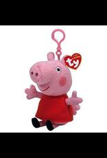 Ty BEANIE BABIES PEPPA PIG CLIP