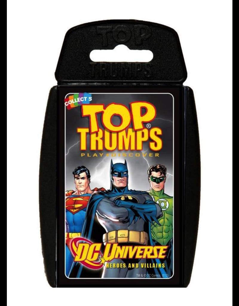 Top Trumps TOP TRUMPS DC SUPERHEROES