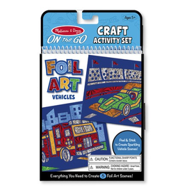 Melissa & Doug On-the-Go Crafts - Foil Art Animals