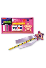 Melissa & Doug WOODEN PRINCESS WAND DECORATE-YOUR-OWN
