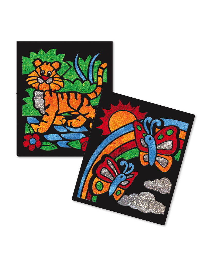 Melissa & Doug ON THE GO FOIL ART ANIMALS