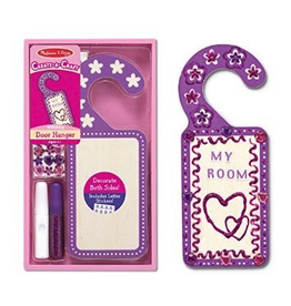Melissa & Doug DOOR HANGER  PURPLE