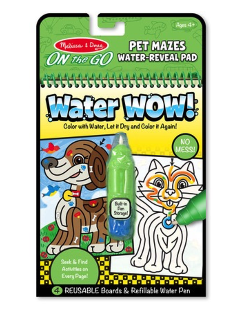 Melissa & Doug WATER WOW PET MAZES