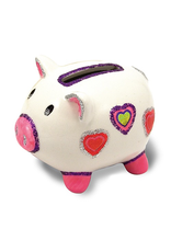 Melissa & Doug PIGGY BANK DECORATE YOUR OWN