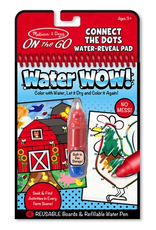 Melissa & Doug WATER WOW FARM CONNECT THE DOTS