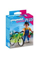Playmobil 4791 HANDYMAN WITH BIKE