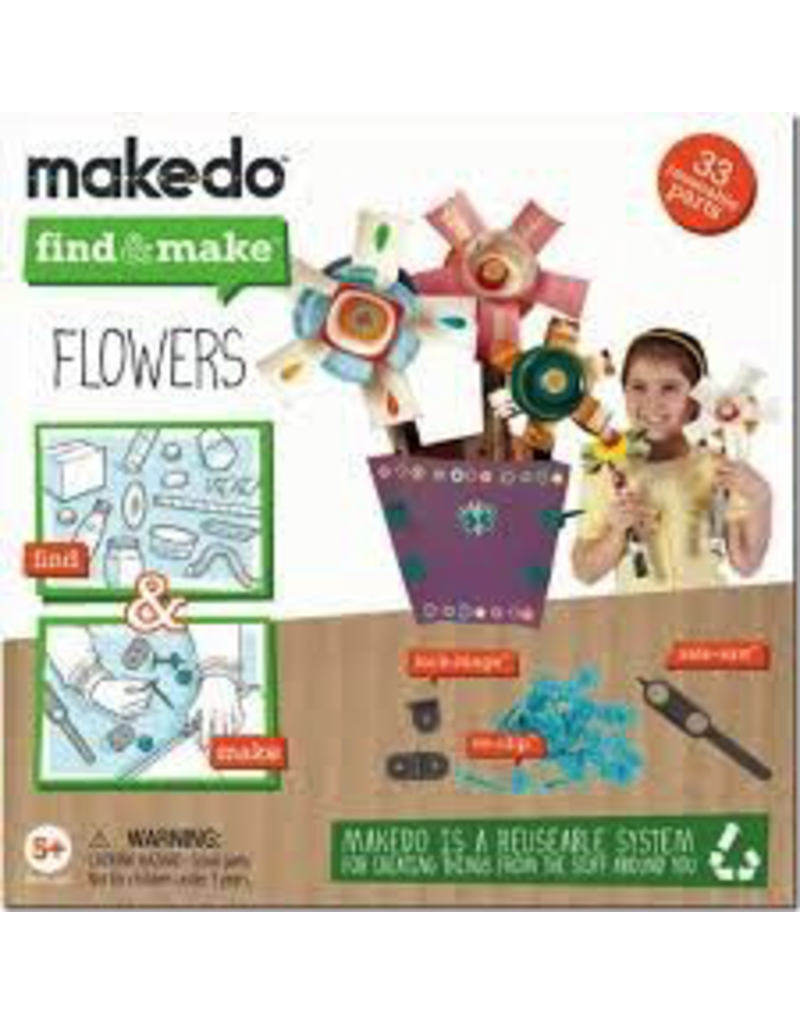 Makedo MAKEDO FIND & MAKE FLOWERS