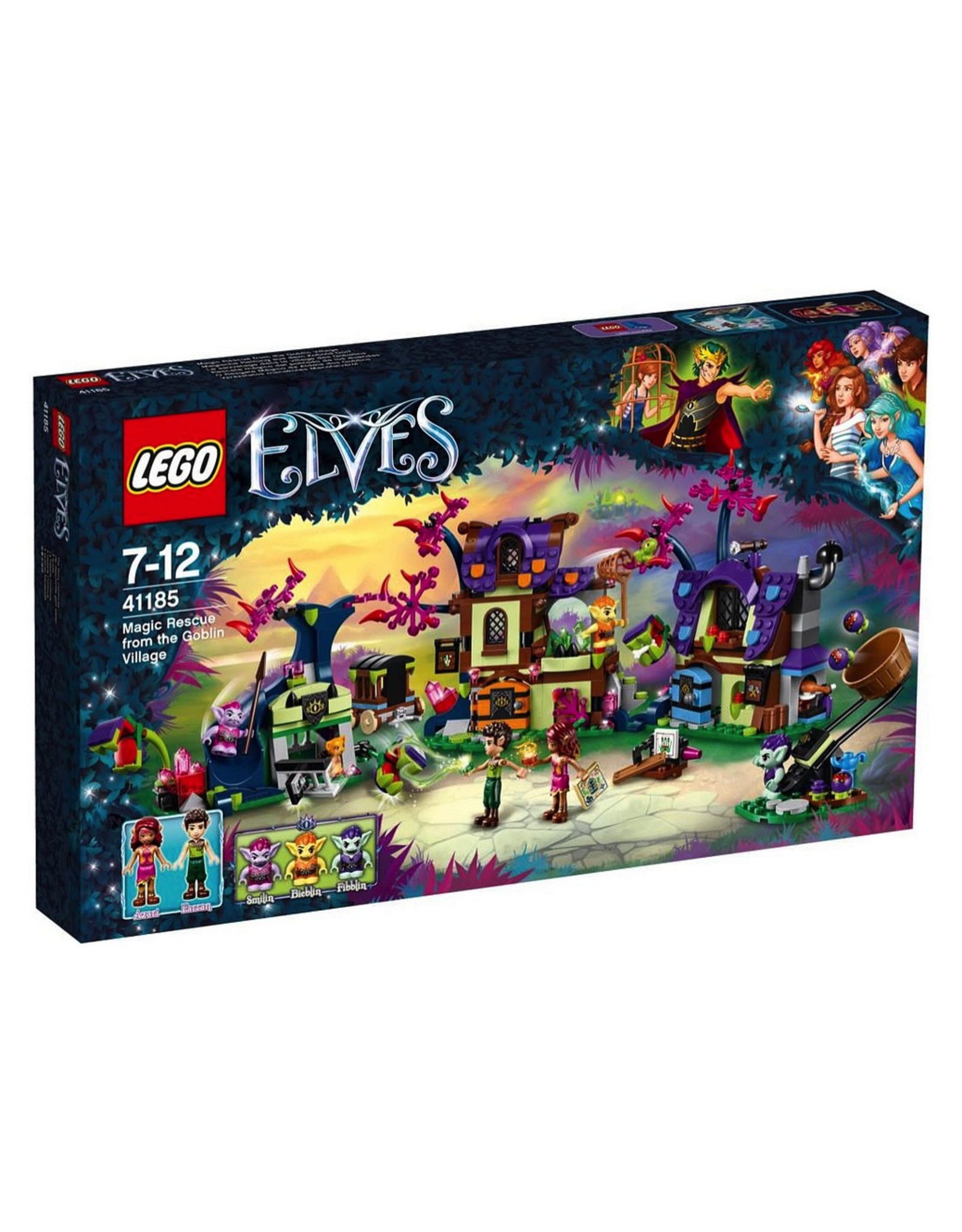 LEGO ELVES - 41185 MAGIC RESCUE FROM THE GOBLIN VILLAGE