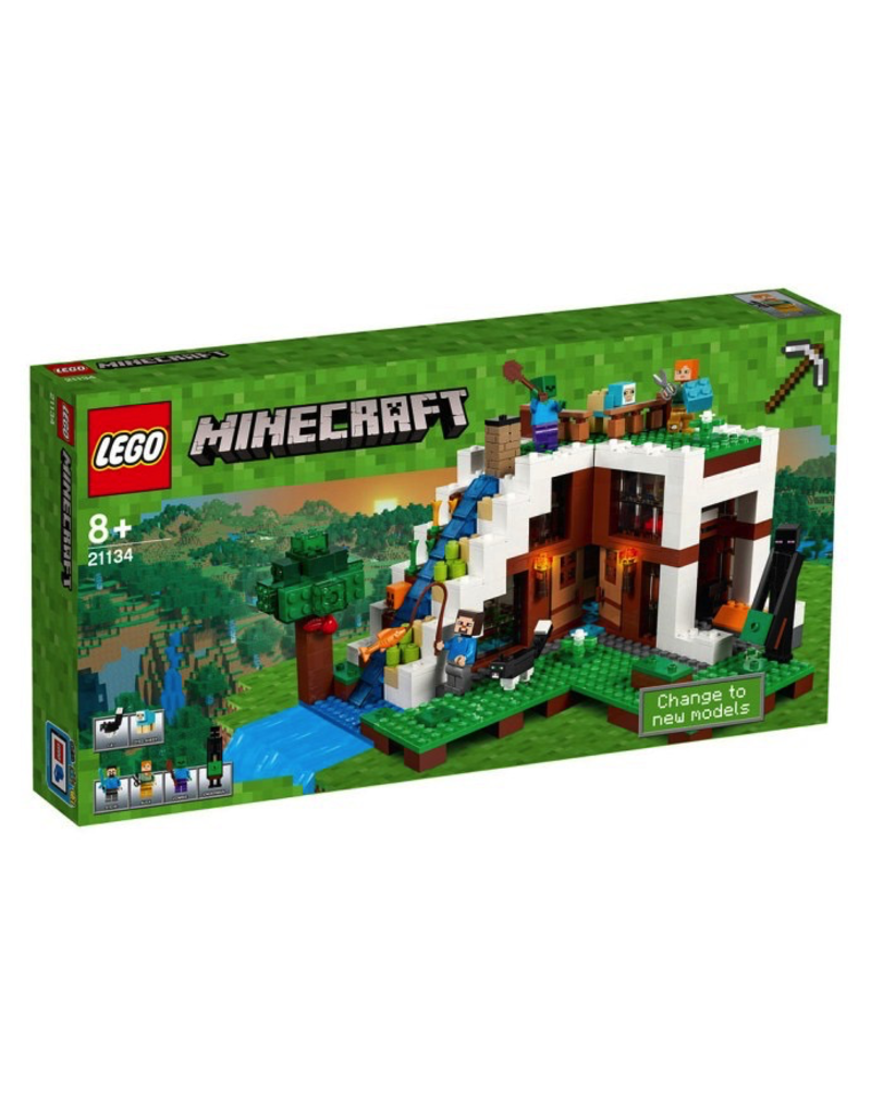 LEGO MINECRAFT - 21134 THE WATERFALL BASE