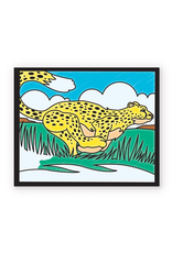 Melissa & Doug ON THE GO - ANIMALS STAINED GLASS COLORING PAD