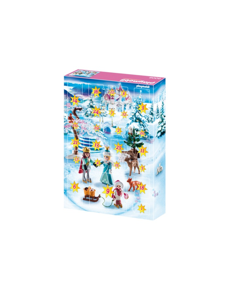 Playmobil 9008 ADVENT CALENDAR - ROYAL ICE SKATING