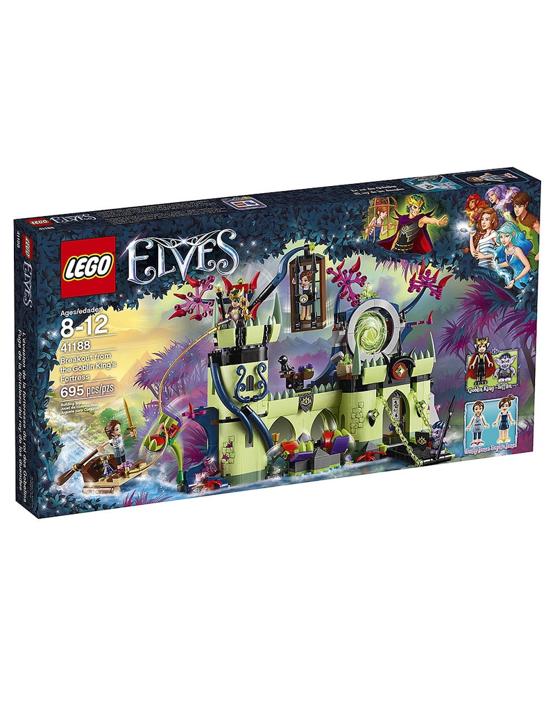 LEGO ELVES - 41188 BREAKOUT FROM THE GOBLIN KING'S FORTRESS