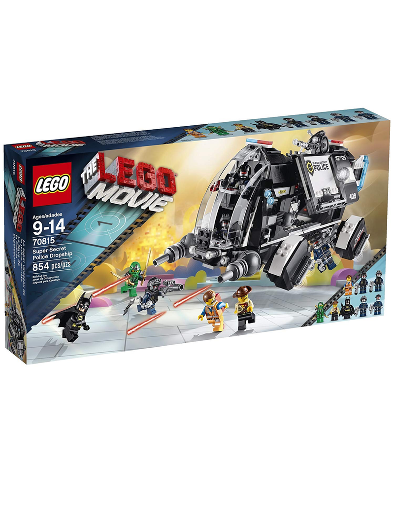 LEGO LEGO MOVIE 70815 SUPER SECERT POLICE DROPSHIP