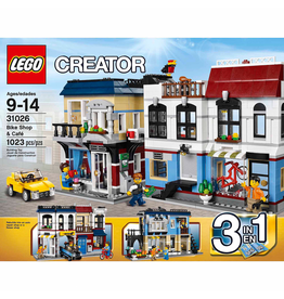 LEGO CREATOR 31026 BIKE SHOP & CAFÉ