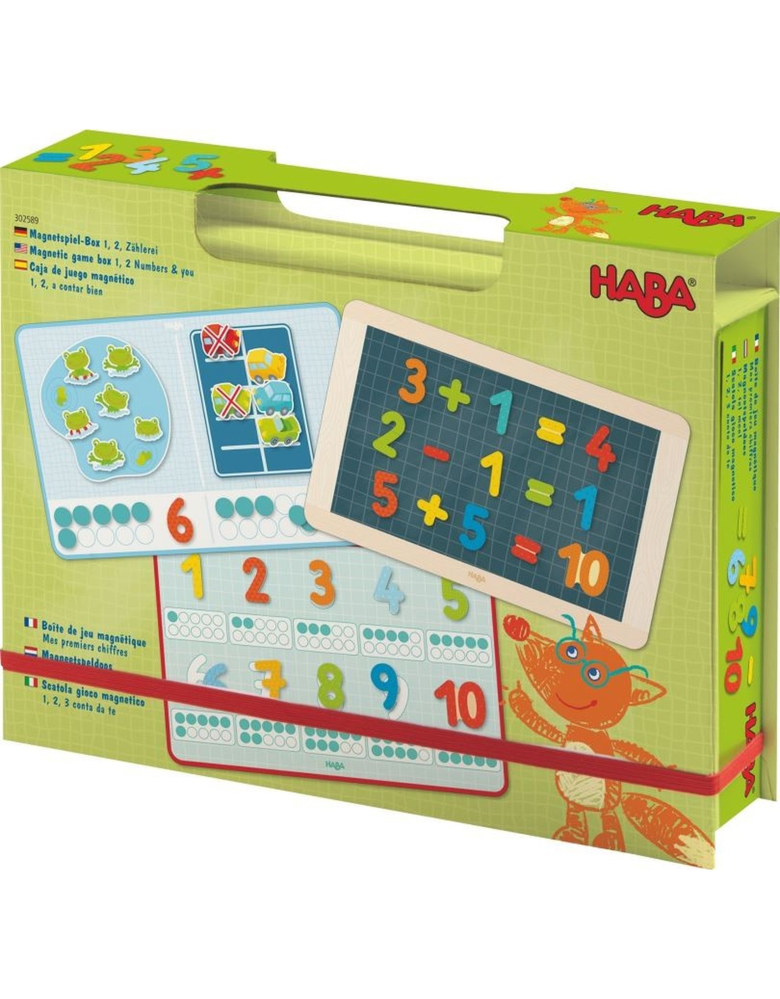 HABA MAGNETIC GAME BOX 1 * 2 NUMBERS & YOU