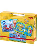 HABA MAGNETIC GAME BOX STREET SENSE