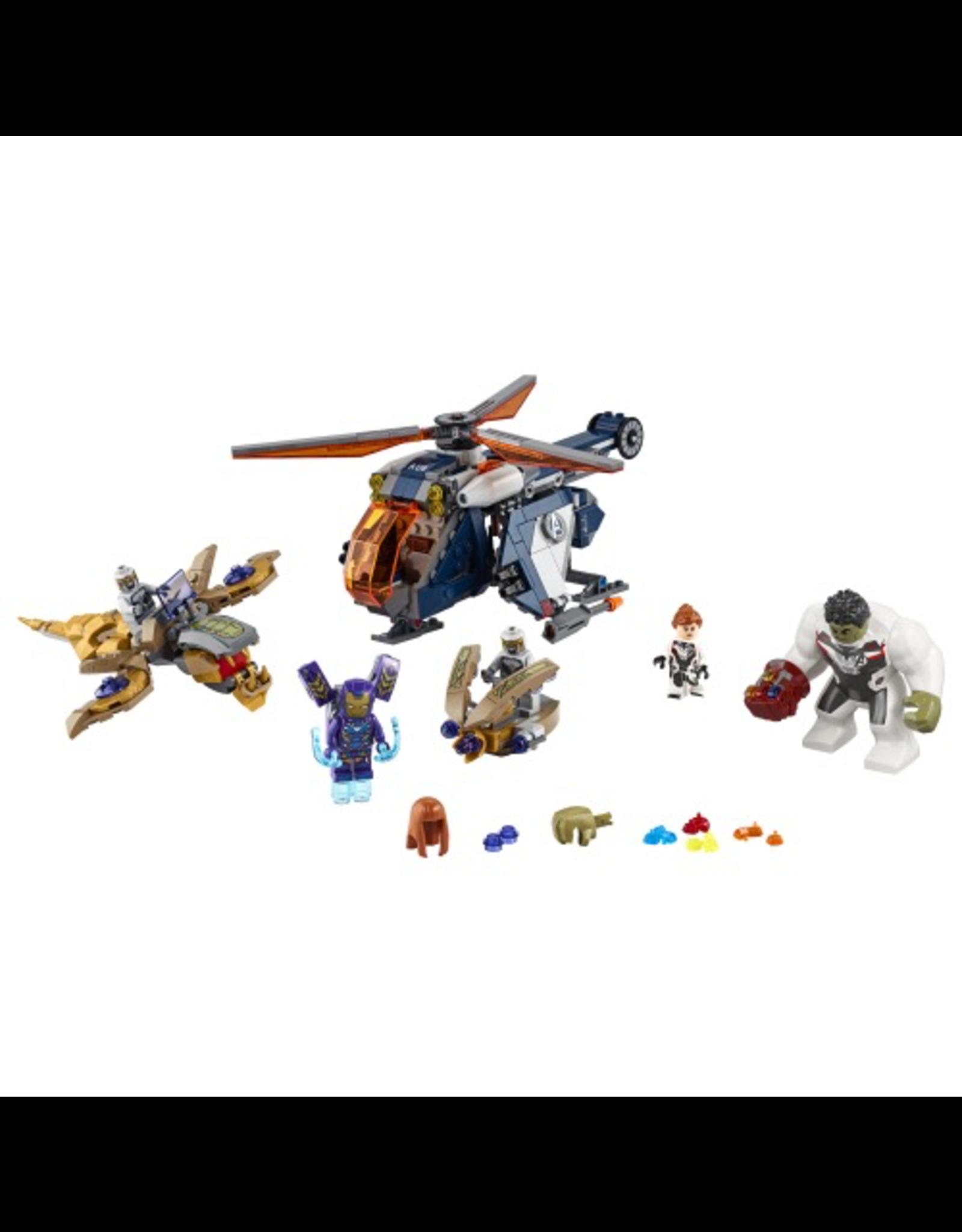LEGO SUPER HEROES - 76144 - MARVEL - AVENGERS HULK HELICOPTER RESCUE