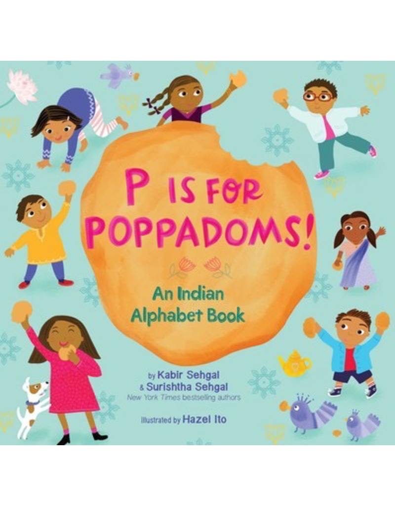 Simon and Schuster P IS FOR POPPADOMS!