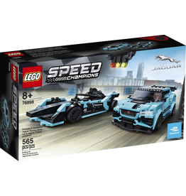 LEGO SPEED CHAMPIONS 76898 FORMULA E PANASONIC RACING JAGUAR GEN2 &JAGUAR I-PACE eTROPHY