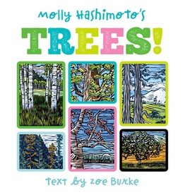 Pomegranate MOLLY HASHIMOTO'S TREES! BOARD BOOK