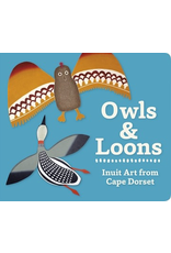 Pomegranate OWLS AND LOONS BOARD BOOK