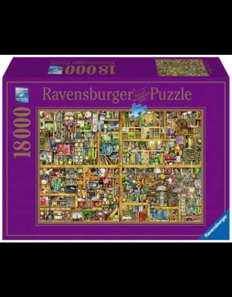 Ravensburger RAVENSBURGER - MAGICAL BOOKCASE (18000 PC)
