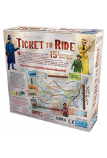 Days of Wonder TICKET TO RIDE 15TH ANNIVERSARY EDITION