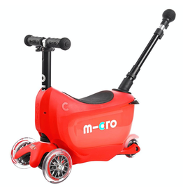 Kickboard MICRO MINI2GO DELUXE PLUS- RED