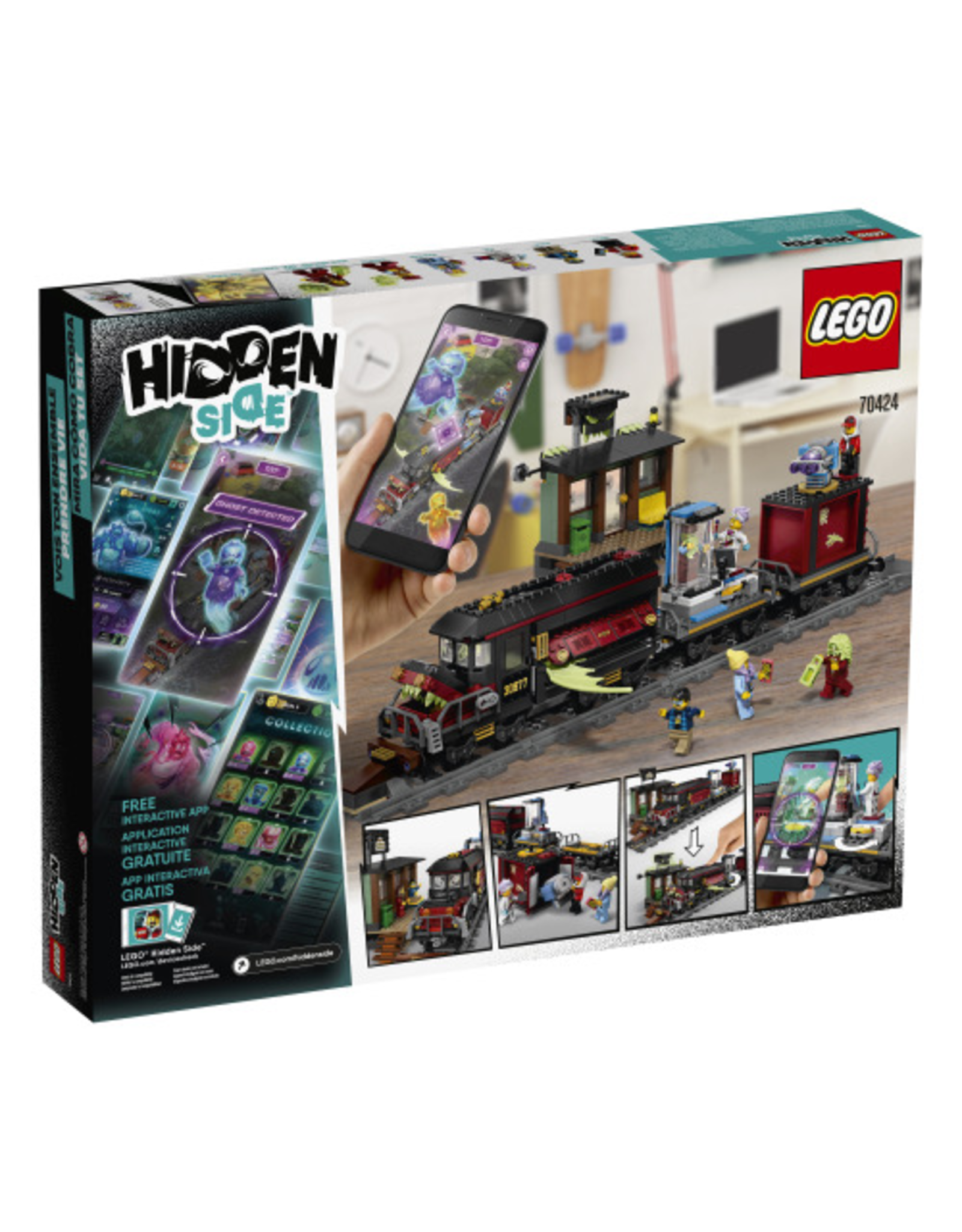 LEGO HIDDEN SIDE – 70424 GHOST TRAIN EXPRESS