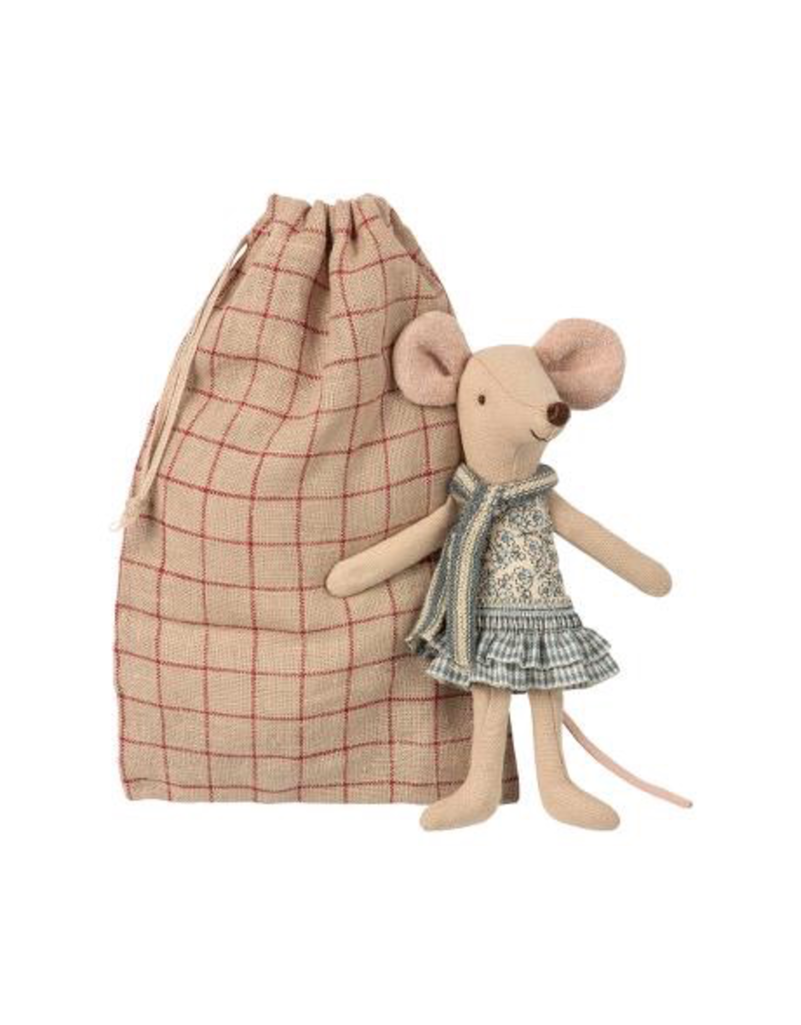 Maileg WINTER MOUSE, BIG SISTER IN BAG