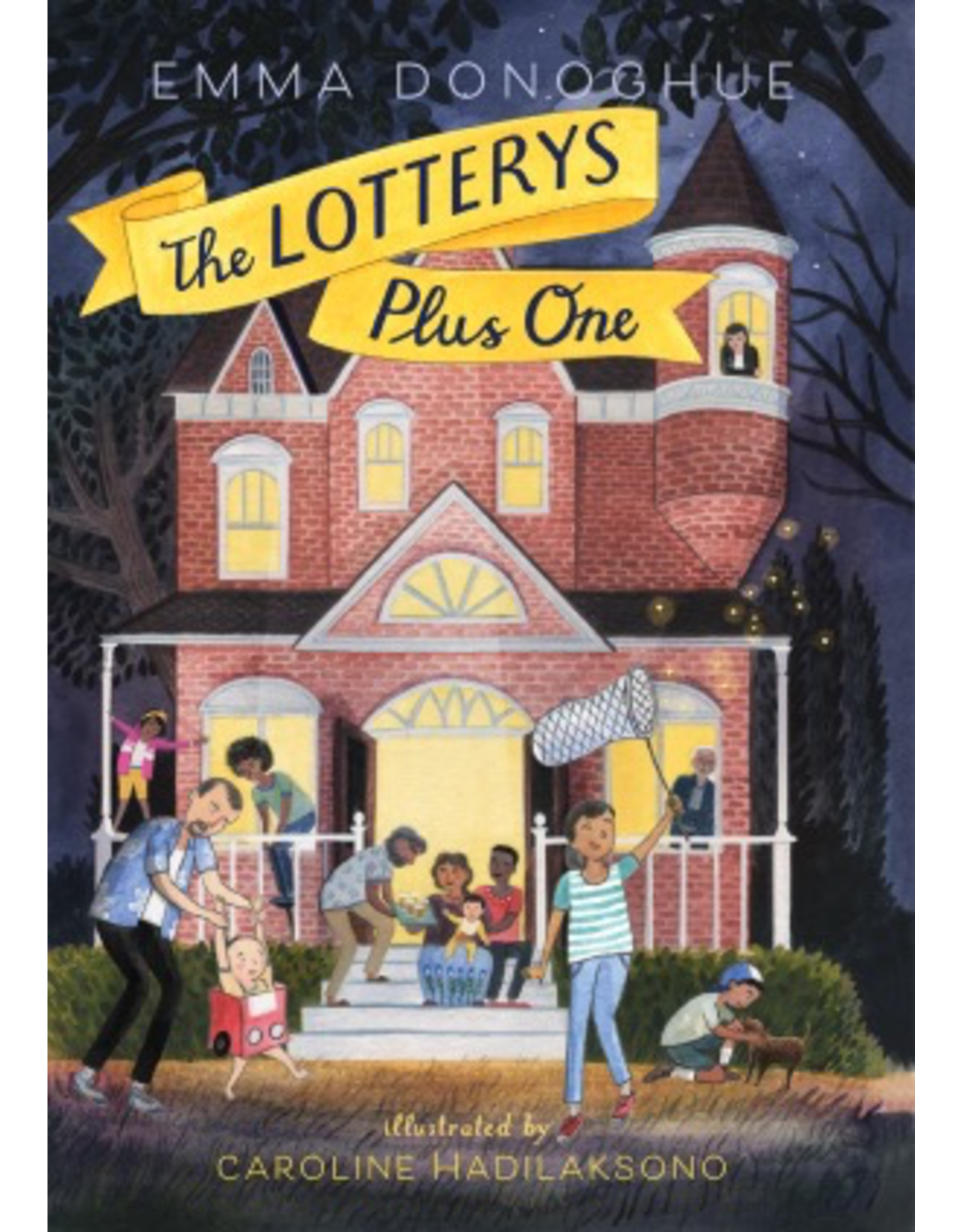 Harper Collins THE LOTTERYS PLUS ONE