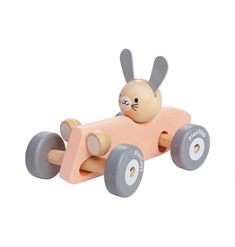 Plan Toys PLAN TOY - BUNNY RACING CAR