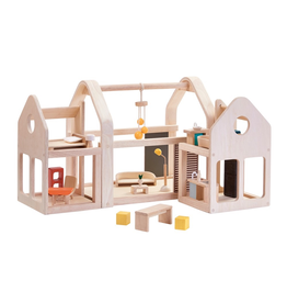 Plan Toys PLAN TOY - SLIDE N GO DOLLHOUSE